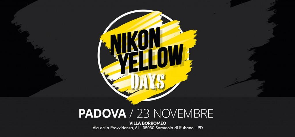NIKON YELLOW DAYS | 23 NOVEMBRE | PADOVA