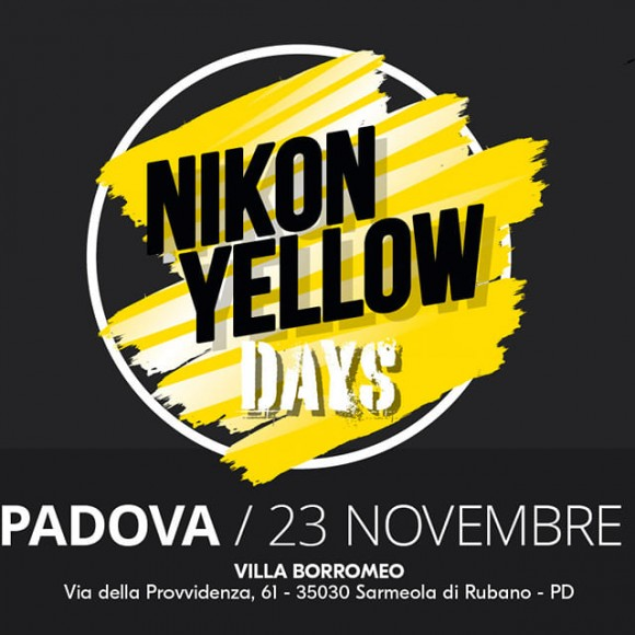 NIKON YELLOW DAYS | 23 NOVEMBRE | PADOVA