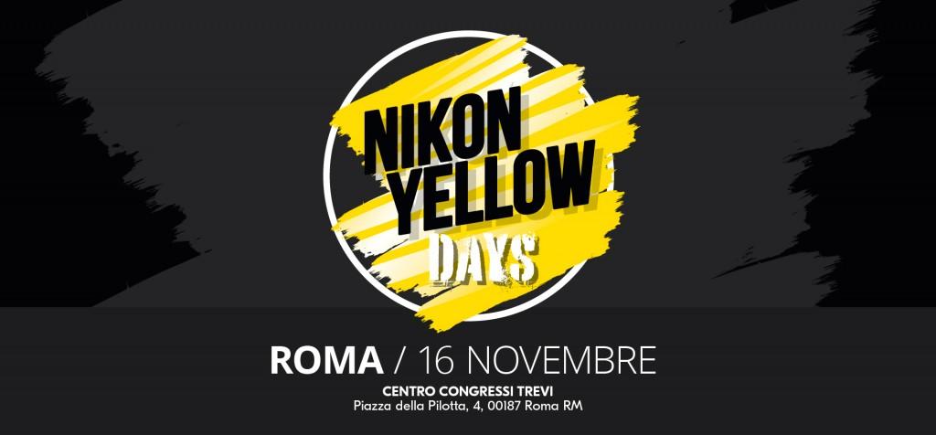 NIKON YELLOW DAYS | 16 novembre | ROMA