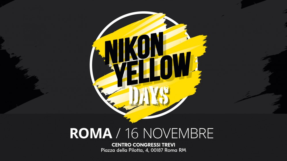 NIKON YELLOW DAYS 16 NOVEMBRE PADOVA