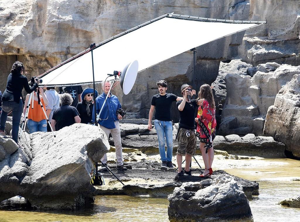 Crew on the rocks ;)