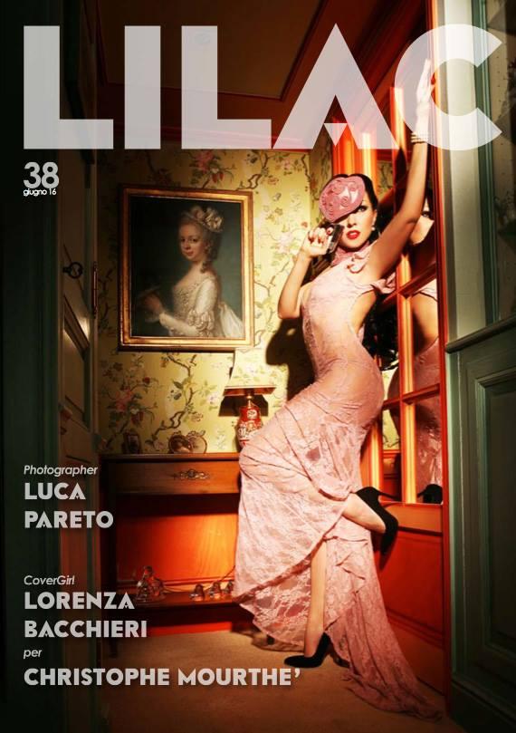 Lilac Photo Magazine | Cover Editorial giugno 2016 | Christophe Mourthé