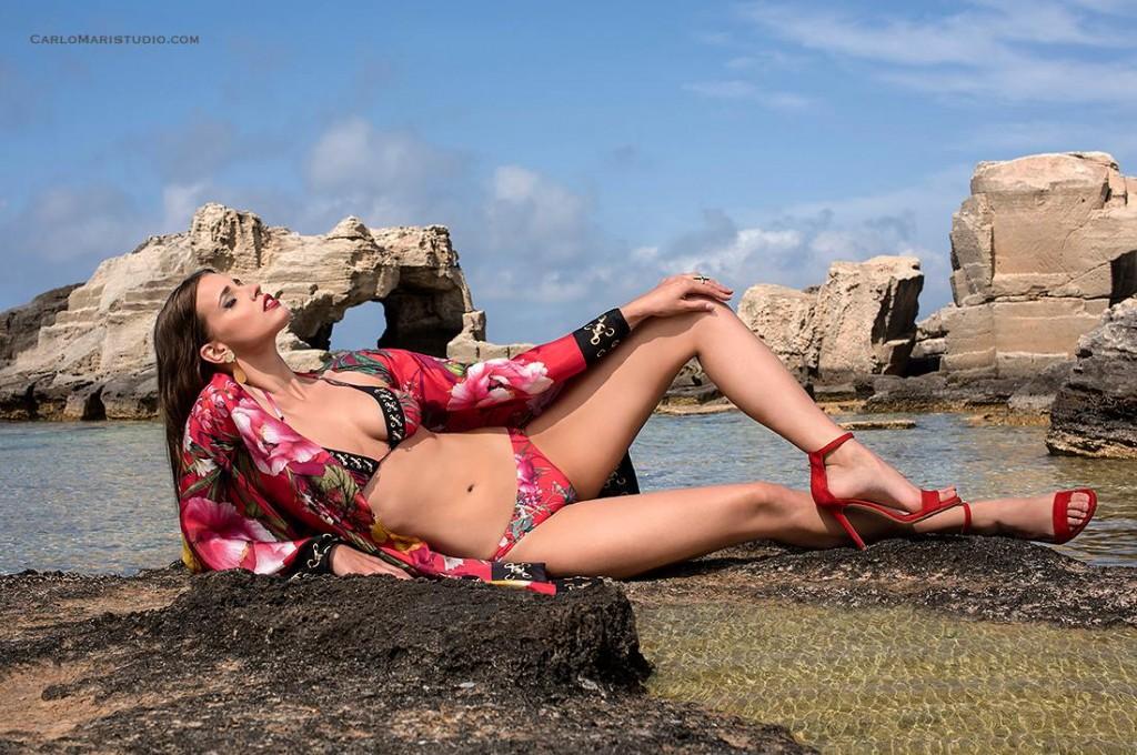 Parah Beachwear Campaign 2017 by Carlo Mari