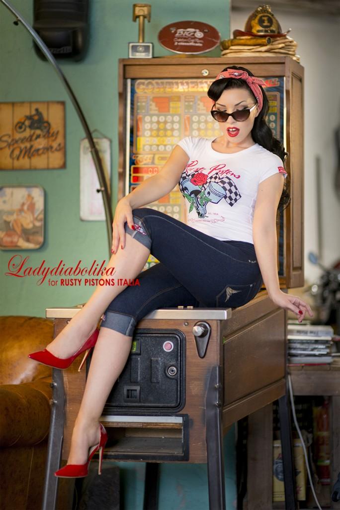 Ladydiabolika for Rusty Pistons Italia 4