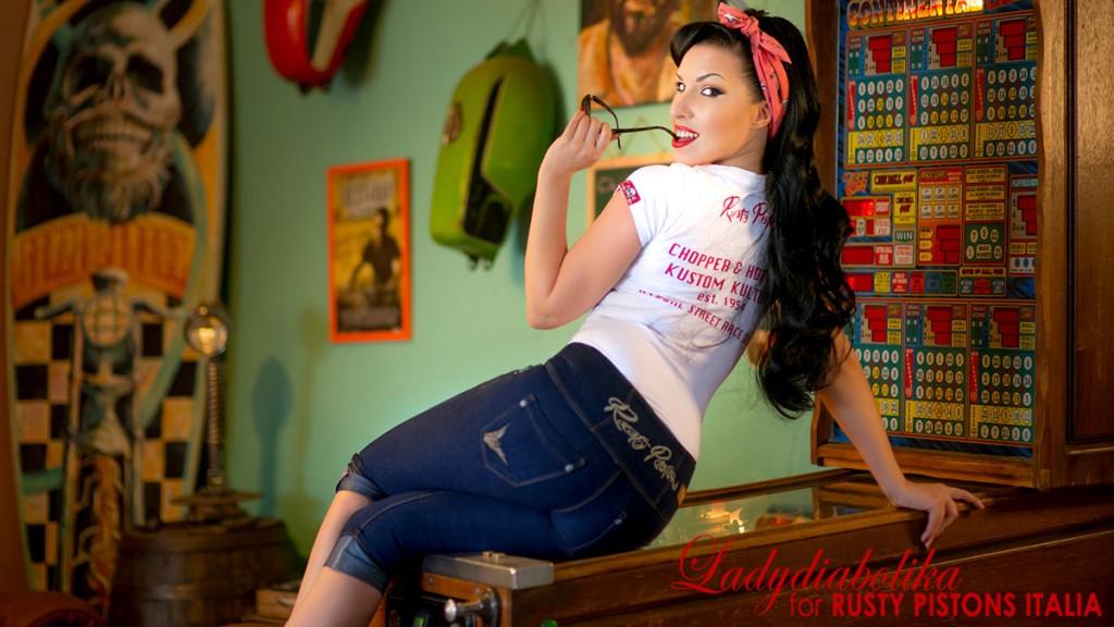 Ladydiabolika for Rusty Pistons Italia 3