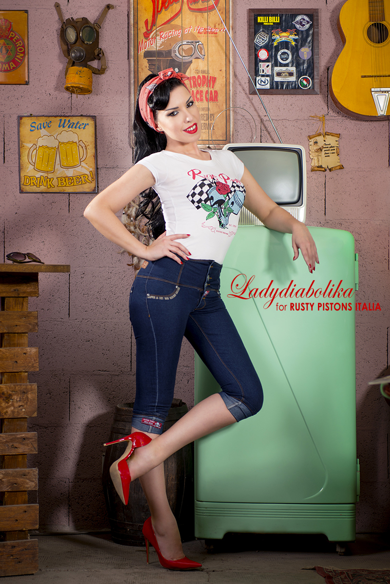 Ladydiabolika for Rusty Pistons Italia 2