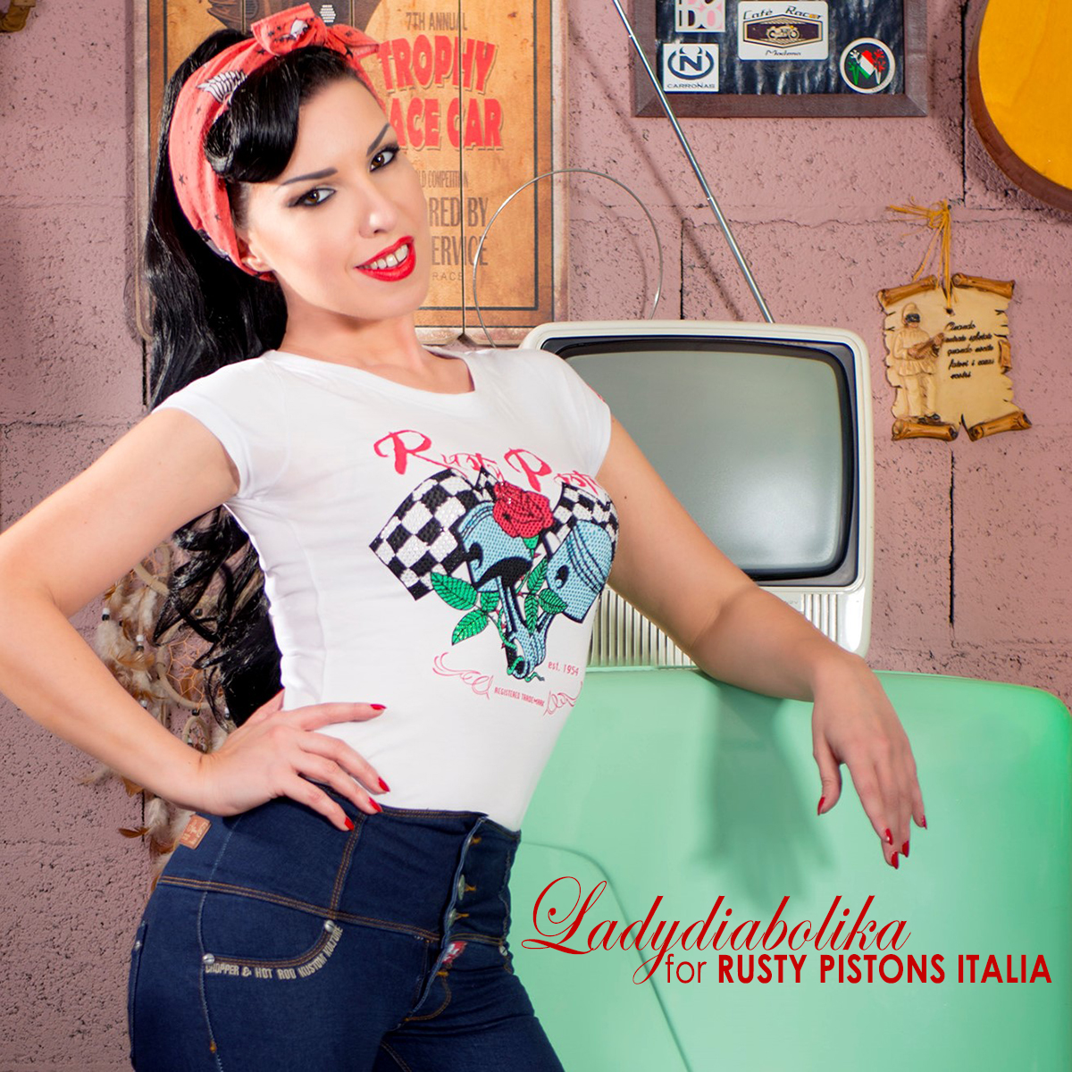 Ladydiabolika for Rusty Pistons Italia