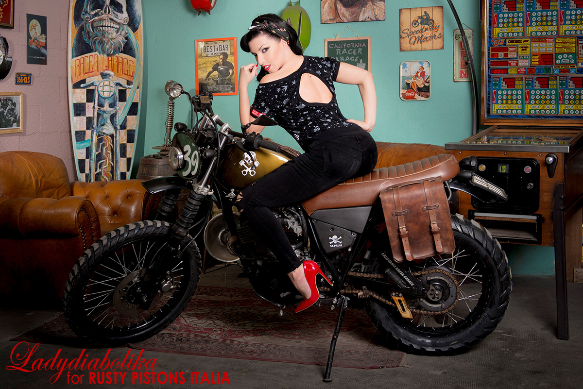 Ladydiabolika for Rusty Pistons Italia 9