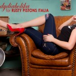 Ladydiabolika for Rusty Pistons Italia cover