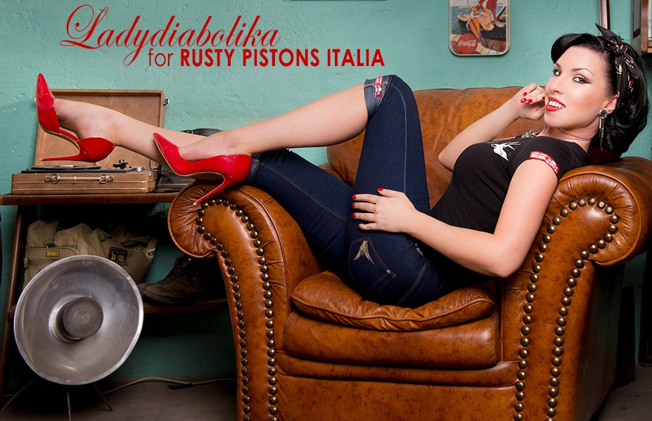 Rusty Pistons Italia loves Pin-up Style