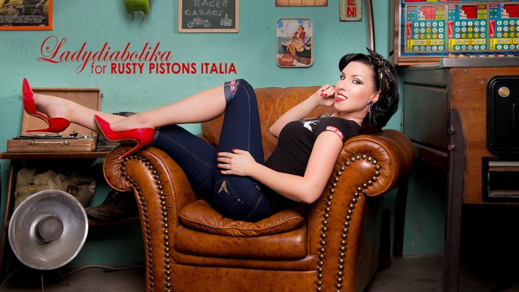 Ladydiabolika for Rusty Pistons Italia 13