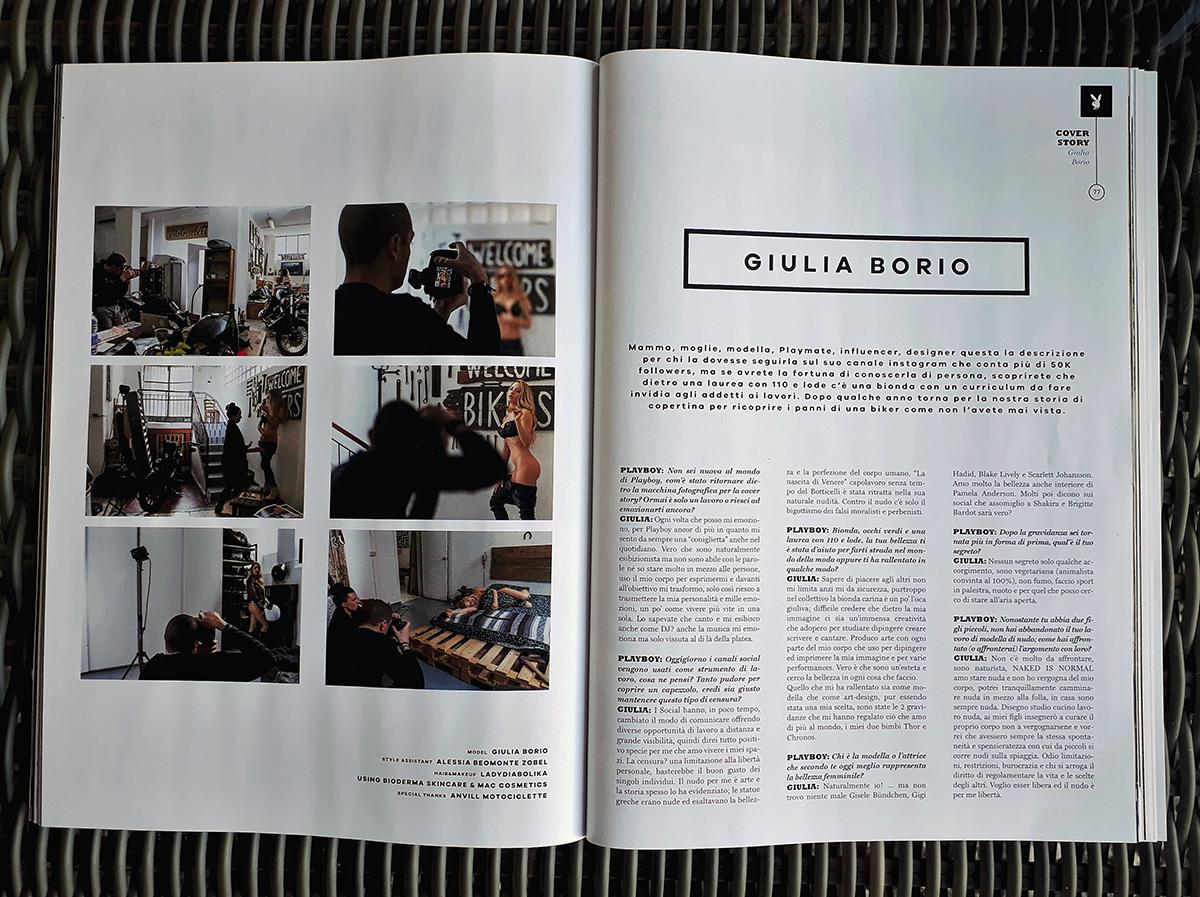 Playboy Maggio 2017- editoriale