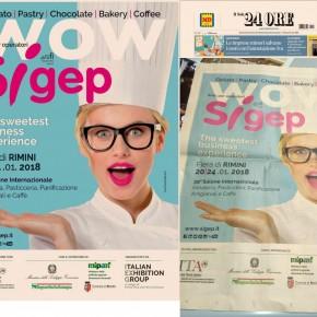 SIGEP RIMINI Campaign /adv 2018
