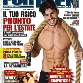 FOR MEN Magazine editorial N.184 – Giugno 2018