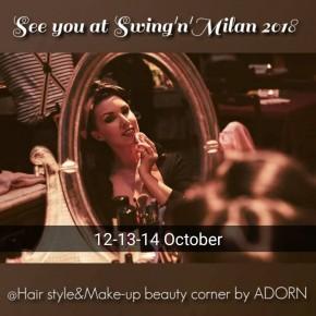 12-13-14 OTTOBRE | Swing 'n' Milan 2018 con Adorn style me Vintage
