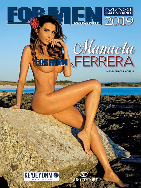CALENDARIO FOR MEN 2019 by Enrico Ricciardi con Manuela Ferrera