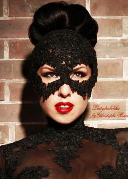 Ladydiabolika Design – Lace Mask