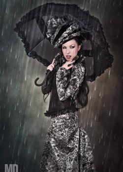 Ladydiabolika Design-Dress | Hat | Umbrella