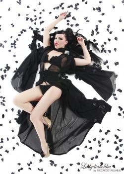 Ladydiabolika Design -Gown-LingerieSet